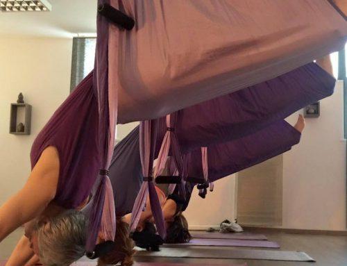 Body Flying, l'allenamento in sospensione contro l'invecchiamento. Articolo su www.paginemediche.it